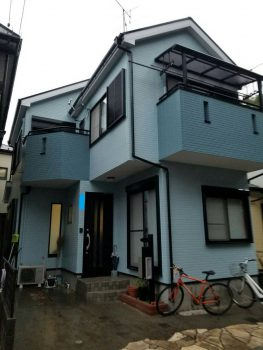 東京都板橋区常盤台外壁塗装工事の記事画像