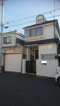 東京都練馬区田柄外壁塗装工事の記事画像