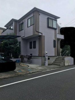 東京都練馬区中村外壁塗装工事の記事画像