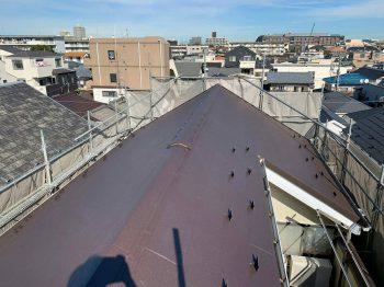 東京都練馬区谷原屋根重ね葺き工事の記事画像