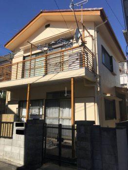 東京都練馬区赤塚外壁塗装工事の記事画像