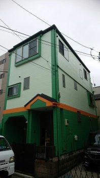 東京都練馬区貫井外壁塗装工事の記事画像