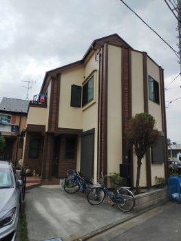東京都練馬区大泉学園町外壁塗装工事の記事画像
