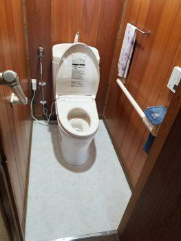 東京都板橋区常盤台トイレ交換工事の記事画像